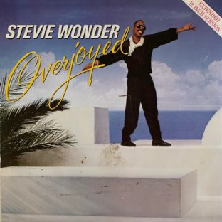 "Stevie Wonder ‎- Overjoyed (12"") (G+/VG-)"